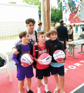 Le BCB au Summer-Camp France Basket